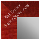 MR1484-3 Red _ Large Custom Wall Mirror Custom Floor Mirror