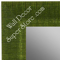 MR1484-4 Green - Large Custom Wall Mirror Custom Floor Mirror