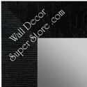 MR1484-5 Black - Large Custom Wall Mirror Custom Floor Mirror