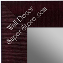MR1484-8 Burgundy - Large Custom Wall Mirror Custom Floor Mirror