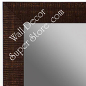 MR1485-1 Brown - Medium Custom Wall Mirror Custom Floor Mirror