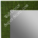 MR1485-4 Green - Medium Custom Wall Mirror Custom Floor Mirror