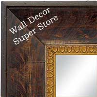 MR1606-4 Coffee  Custom Mirror