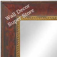 MR1607-1   Venetian Cognac  Custom Mirror