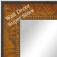 MR1607-3   Honey Pecan  Custom Mirror