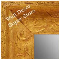 MR1613-1  Distressed Gold Custom Wall Mirror