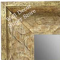 MR1613-3  Distressed Silver Custom Wall Mirror