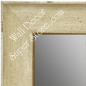 MR1615-3  Distressed Cream Custom Wall Mirror