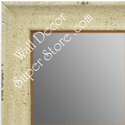 MR1616-4  Distressed Cream | Custom Wall Mirror