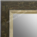 MR1628-1   Distressed Walnut / Design | Custom Wall Mirror
