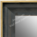 MR1631-1   Distressed Black | Custom Wall Mirror
