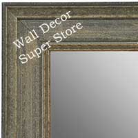 Custom Gray Framed Custom Mirrors