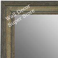 MR1671-1 | Distressed Gray | Custom Wall Mirror