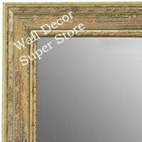 MR1671-2 | Distressed Ivory | Custom Wall Mirror