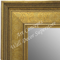 MR1678-1 | Gold / Design | Custom Wall Mirror