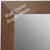 MR1682-2 | Natural Walnut | Custom Wall Mirror
