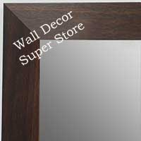MR1682-3 | Dark Walnut | Custom Wall Mirror