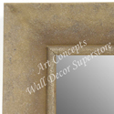 MR1685-1 | Distressed Ivory | Custom Wall Mirror