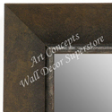 MR1685-2 | Distressed Brown | Custom Wall Mirror