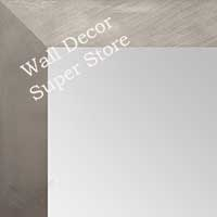 MR1688-2 | Silver / Flat Moulding | Custom Wall Mirror