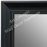 MR1690-1 | Black | Custom Wall Mirror