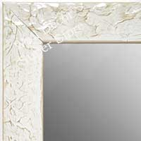 MR1692-2 | Glossy White / Design | Custom Wall Mirror | Decorative Framed Mirrors | Wall D�cor