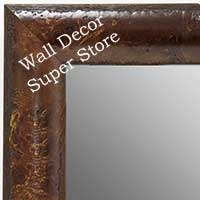 MR1693-3 | Dark Maple Burl Moulding | Custom Wall Mirror | Decorative Framed Mirrors | Wall D�cor