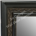 MR1697-2 | Distressed Black | Custom Wall Mirror | Decorative Framed Mirrors | Wall D�cor