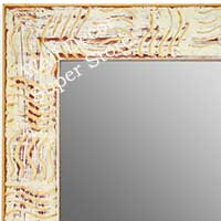 MR1702-2 | White / Cream / Design | Custom Wall Mirror | Decorative Framed Mirrors | Wall D�cor