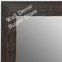 MR1702-3 | Black / Design | Custom Wall Mirror | Decorative Framed Mirrors | Wall D�cor