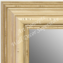 MR1704-2 | Distressed White | Custom Wall Mirror | Decorative Framed Mirrors | Wall D�cor