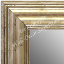 MR1704-4 | Distressed Silver | Custom Wall Mirror | Decorative Framed Mirrors | Wall D�cor