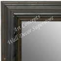 MR1705-1 | Distressed Black | Custom Wall Mirror | Decorative Framed Mirrors | Wall D�cor