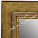 MR1719-3 | Distressed Gold | Custom Wall Mirror | Decorative Framed Mirrors | Wall D�cor