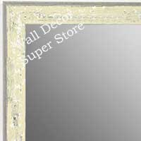 MR1735-1 | Distressed Oat | Custom Wall Mirror | Decorative Framed Mirrors | Wall D�cor
