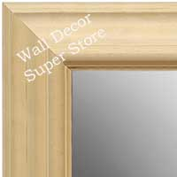 MR1757-1 | Unfinished Wood Frame | Unfinished Natural Wood Moulding - Paint or Stain | Custom Wall Mirror