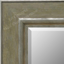 MR1765-2 | Distressed Green / Silver | Custom Wall Mirror | Decorative Framed Mirrors | Wall D�cor