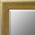 MR1778-1 | Distressed Gold Leaf - Crescent Moulding | Custom Wall Mirror | Decorative Framed Mirrors | Wall D�cor