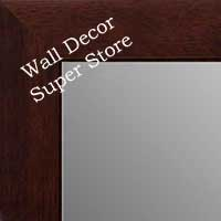 MR1845-5 Walnut - Value Price - Medium Custom Wall Mirror Custom Floor Mirror