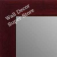 MR1845-7 Dark Mahogany - Value Price - Medium Custom Wall Mirror Custom Floor Mirror