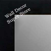 MR1845-9 Matte Black - Value Price - Medium Custom Wall Mirror Custom Floor Mirror