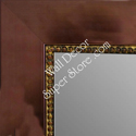 MR1848-1 | Bronze with Antique Beading | Custom Wall Mirror | Decorative Framed Mirrors | Wall D�cor