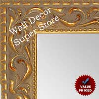 MR1862-1 Ornate Venetian Gold - Value Priced Large Custom Wall Mirror Custom Floor Mirror