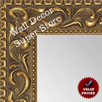 MR1862-2 Ornate Dark French Gold - Value Priced - Large Custom Wall Mirror Custom Floor Mirror