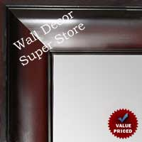 MR1864-2 Cherry Mahogany - Value Priced - Large Custom Wall Mirror Custom Floor Mirror