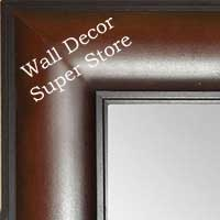 MR1869-2 Walnut Brown - Value Priced - Extra Large Custom Wall Mirror Custom Floor Mirror