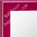 MR210-5  Pink - Small Custom Wall Mirror