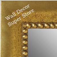 MR5203-3 Distressed Gold - Extra Large Custom Wall Mirror Custom Floor Mirror