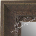 MR5210-1 Chestnut Brown Distressed Scoop - Extra Extra Large Custom Wall Mirror Custom Floor Mirror