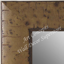 MR5211-1  Almond Distressed - Extra Large Custom Wall Mirror Custom Floor Mirror